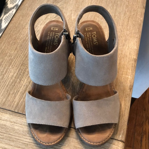 Toms Shoes | Desert Taupe Suede Womens